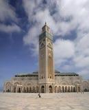 Mesquita de Hassan II Fotografia de Stock Royalty Free