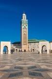 Mesquita de Hassan II Fotografia de Stock