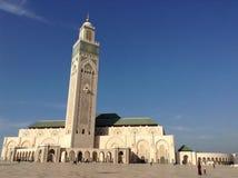 Mesquita de Hassan II imagem de stock