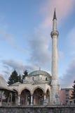 A mesquita de Husein-pa?a em Pljevlja fotografia de stock
