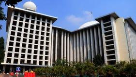 Mesquita de Istiqlal Imagem de Stock