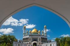 Mesquita de Jame'Asr Hassanil Bolkiah Foto de Stock