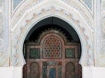 Mesquita de Kairaouine Quaraouiyne em Fez, Marrocos fotografia de stock royalty free