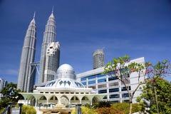 Mesquita de KLCC Imagem de Stock