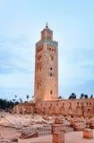 Mesquita de Koutoubia Fotografia de Stock