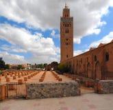 Mesquita de Koutoubia fotos de stock