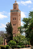 Mesquita de Koutoubia, C4marraquexe Imagem de Stock Royalty Free