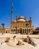 Mesquita de Mohamed Ali, o Cairo imagens de stock