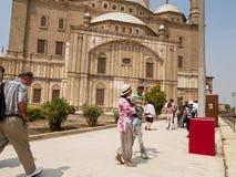 Mesquita de Muhammad Ali, o Cairo, Egito. Imagens de Stock