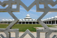 Mesquita a de An-Nur K uma mesquita da universidade da tecnologia de Petronas imagem de stock