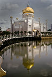 Mesquita de Omar Ali Saifuddin Imagens de Stock