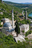 Mesquita de Pocitelj Foto de Stock Royalty Free