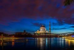 A mesquita de Putra Imagens de Stock Royalty Free