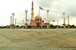 Mesquita de Putra de Putrajaya, Malásia Foto de Stock Royalty Free