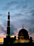 Mesquita de Putra Jaya Imagens de Stock Royalty Free
