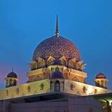 A mesquita de Putra, Malaysia Fotografia de Stock