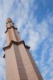 A mesquita de Putra (Masjid Putra) é a mesquita principal de Putrajaya Imagens de Stock Royalty Free