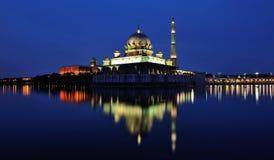 Mesquita de Putra, Putra Jaya Imagem de Stock