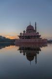 Mesquita de Putra, Putrajaya Foto de Stock Royalty Free