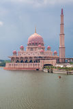 Mesquita de Putra, Putrajaya, Malaysia Imagens de Stock