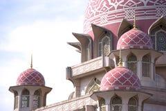 Mesquita de Putrajaya fotos de stock