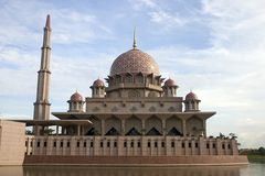Mesquita de Putrajaya, Kuala Lumpur, Malaysia. Fotografia de Stock
