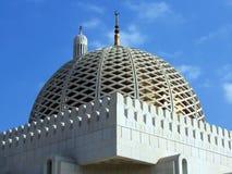 Mesquita de Qubrah do Al no Muscat Oman Fotografia de Stock