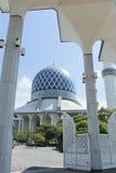 Mesquita de Salahuddin Abdul Aziz Shah da sultão Foto de Stock