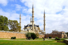 Mesquita de Selimiye, Edirne Imagens de Stock