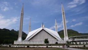 A mesquita de Shah Faisal Foto de Stock Royalty Free