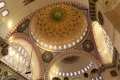 Mesquita de Süleymaniye Imagens de Stock Royalty Free
