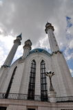 Mesquita de Sufi na vila Kantyukovka Foto de Stock
