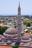 Mesquita de Suleiman, o Rodes, Grécia Fotos de Stock