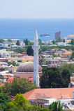Mesquita de Suleiman, o Rodes, Grécia Imagens de Stock Royalty Free