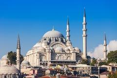 A mesquita de Suleymaniye foto de stock