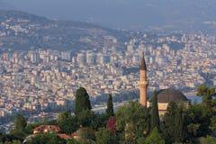 Mesquita de Suleymaniye em Alanya, Turquia Imagens de Stock