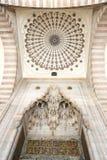 Mesquita de Suleymaniye em Istambul, Turquia fotografia de stock
