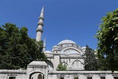 Mesquita de Suleymaniye em Istambul, Turquia imagem de stock royalty free
