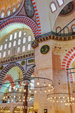 Mesquita de Suleymaniye em Istambul Turquia Imagem de Stock Royalty Free