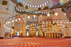 Mesquita de Suleymaniye em Istambul Turquia Imagem de Stock