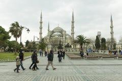 Mesquita de Sultanahmed Foto de Stock