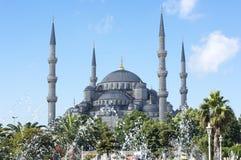 Mesquita de Sultanhamet, Istambul Fotos de Stock Royalty Free