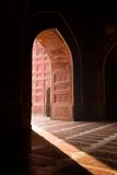 Mesquita de Taj Mahal Imagens de Stock Royalty Free
