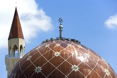 Mesquita de Wangsa Maju imagem de stock royalty free