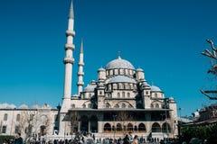 A mesquita de Yeni Cami em Istambul Imagem de Stock