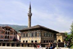Mesquita decorada, Macedônia, Tetovo fotos de stock