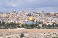 Mesquita do al-Aqsa na cidade velha do Jerusalém, Israel Fotografia de Stock Royalty Free