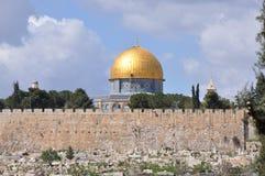 Mesquita do al-Aqsa na cidade velha do Jerusalém, Israel Imagens de Stock