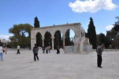 Mesquita do al-Aqsa na cidade velha do Jerusalém, Israel Imagem de Stock Royalty Free