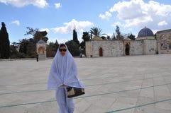 Mesquita do al-Aqsa na cidade velha do Jerusalém, Israel Foto de Stock Royalty Free